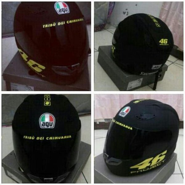 Good Sticker Helm. 46 Project Vxxentino Rossi