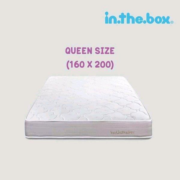 Spring Bed Inthebox 160x200 free 2 Bantal