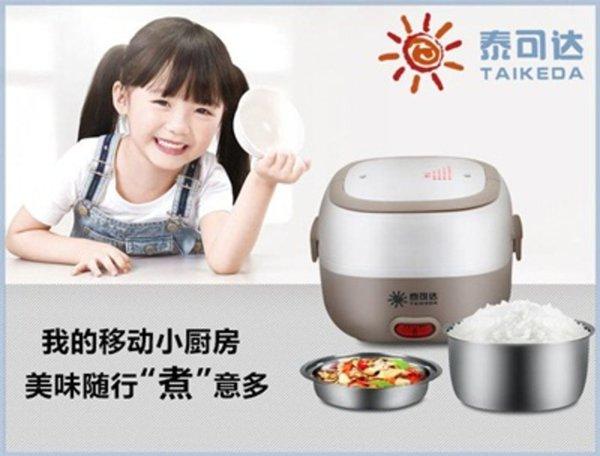 Mini Rice Cooker Stainless Egg Boiler Masak Indomie Dan Bubur