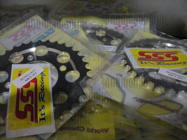 Gear SSS (Belakang) 428 : GRAND, SUPRA FIT OLD : Size 33T-38T