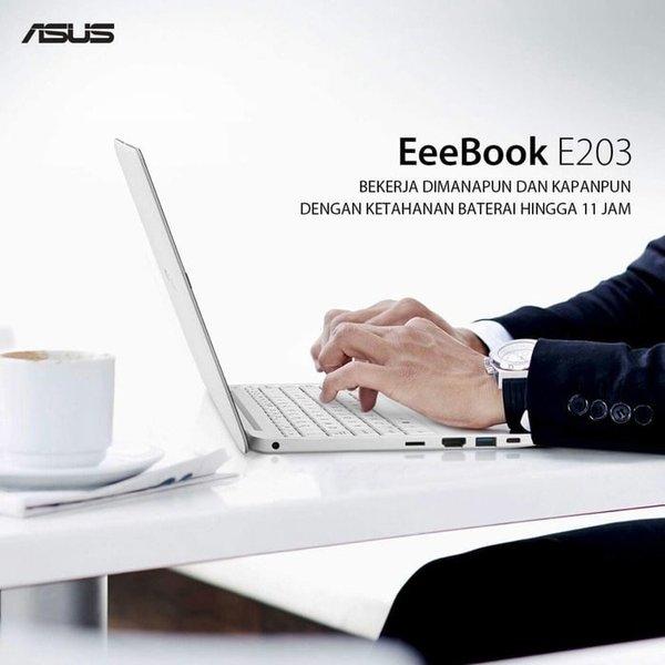 UNIK ASUS E203NAH N3350 4GB 500GB WIND10 LIMITED