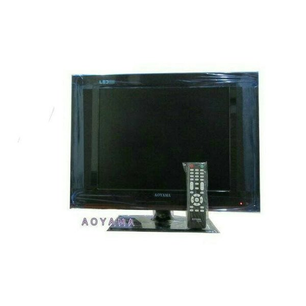Unik tv led Aoyama 17  HDMI VGA bonus antena dalam  Diskon