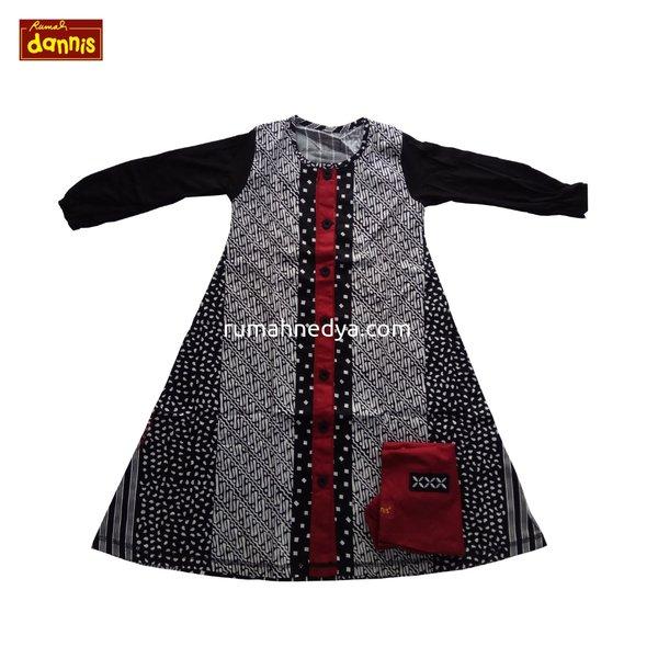 Setelan Anak DANNIS size 2 - Gamis - Baju Busana Muslim Edisi Couple