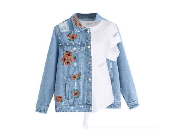 5 Cara mengakali baju bolong atau sobek agar tetap nyaman saat dipakai (Foto: Polyvore.com)