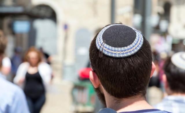 Żyd mycka nakrycie głowy