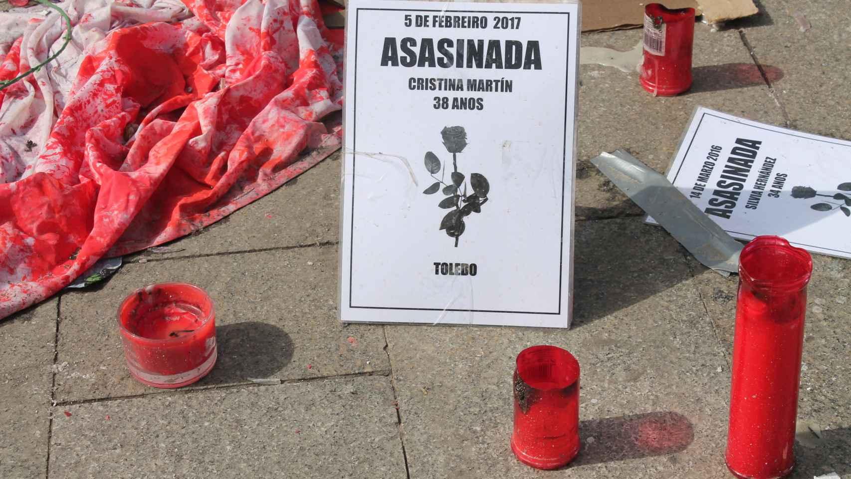 Las huelguistas de la Puerta del Sol reivindican un Pacto de Estado que ponga fin a la violencia machista.