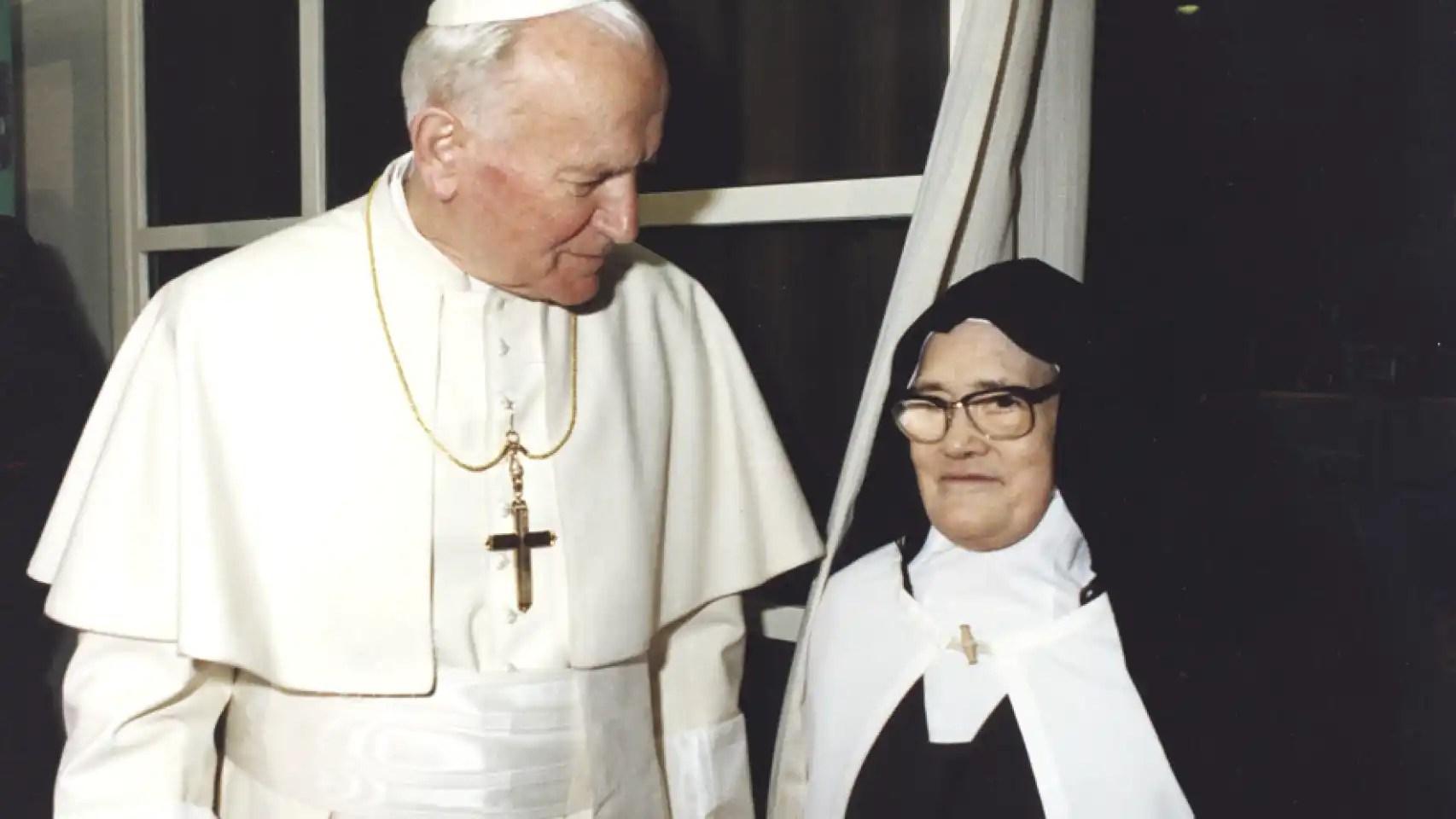 El Papa Juan Pablo II y Sor Lucia se hicieron amigos tras el atentado al pontífice