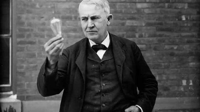 Resultado de imagen para Footos de Thomas Edison consiguió que su primera lámpara eléctrica