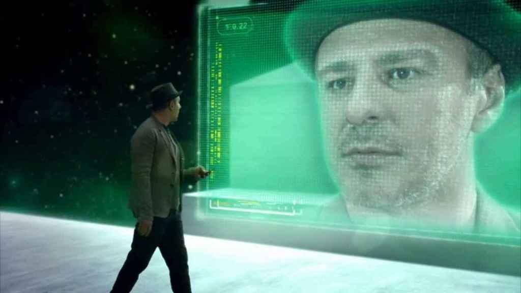 El actor Roberto Álamo, ganador de un Goya, en el 'spot' publicitario de Bet365.