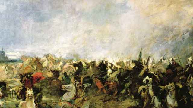 La batalla de Guadalete.