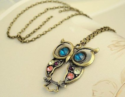 accessories  cute  jewellery  necklace  neckless   image  448632 on     accessories  cute  jewellery  necklace  neckless  owl  owl necklace  pretty