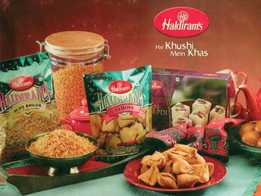 Haldiram's are a major Indian snacks and sweets manufacturer. Haldiram's website