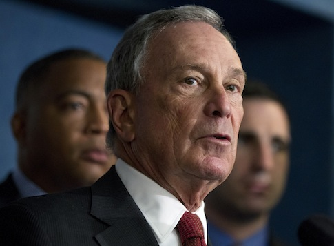 Michael Bloomberg / AP