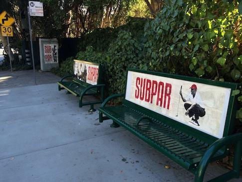 Benches in Santa Monica, CA