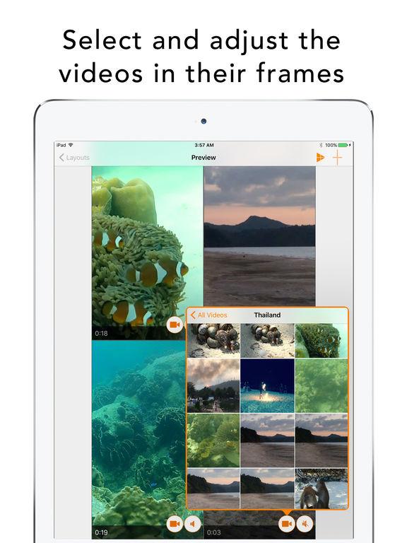 Split Screen Videos Screenshot