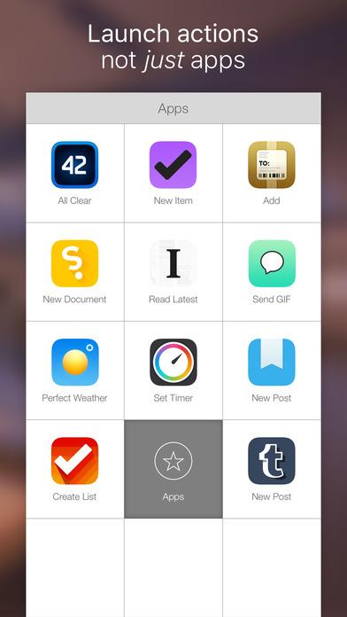 Launch Center Pro - Shortcut launcher & workflows Screenshot