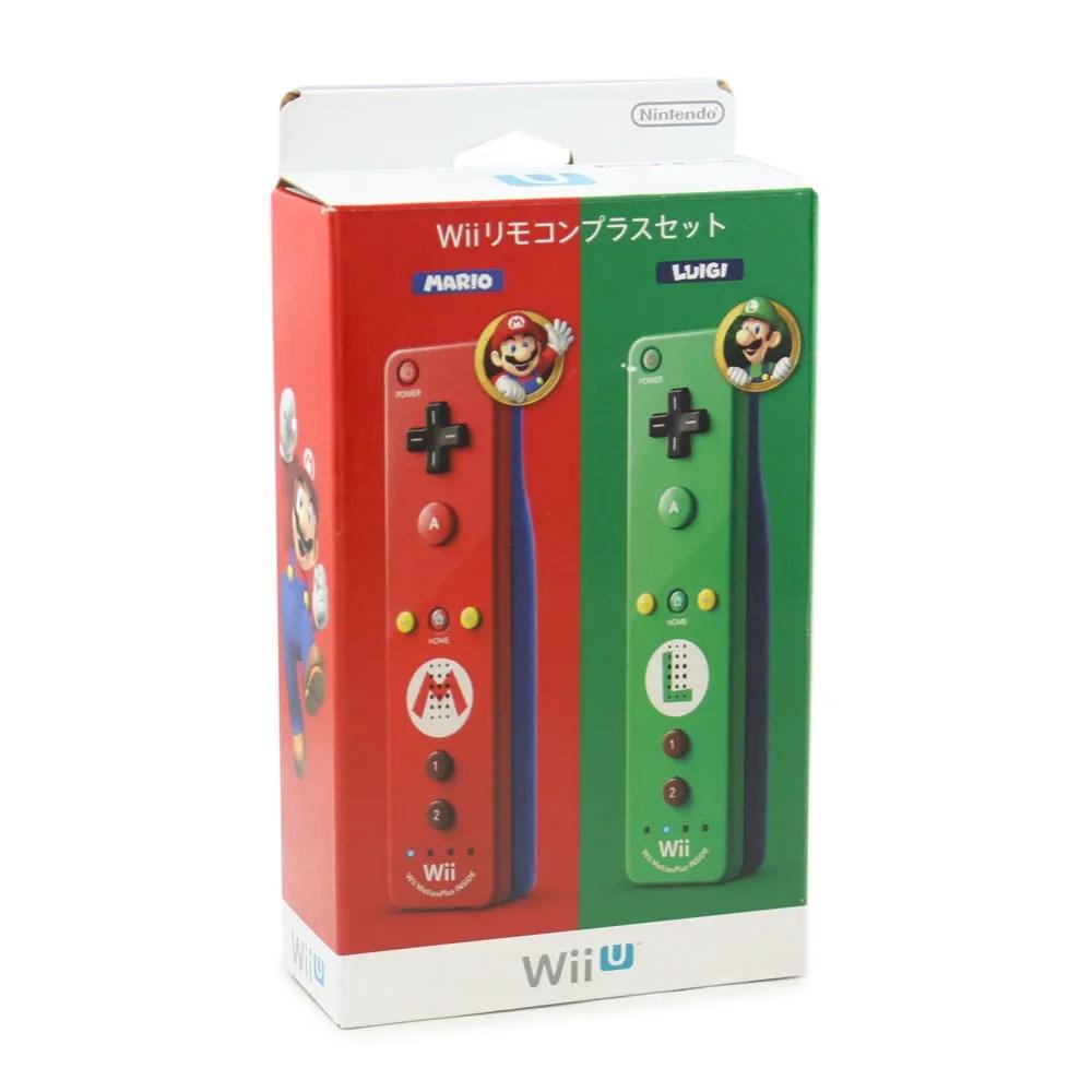 Wii Remote Control Plus Set MarioLuigi