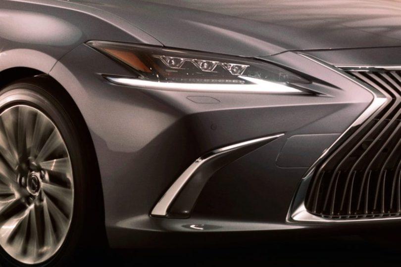 原厂释出官图造势,新一代 2019 Lexus ES 造型提前曝光 Image #66333