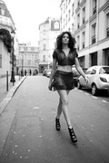 Stephanie Seymour in Azzedine Alaia/ Giles Bensimmon/ Flaunt Magazine