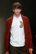 Burberry Prorsum 2012 mens hairstyle trends www izandrew blogspot com izandrew 4