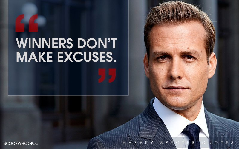 30 Witty One Liners By Harvey Specter That Are The Secret
