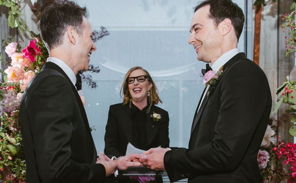 These Pictures From Jim Parsons & Todd Spiewak Wedding