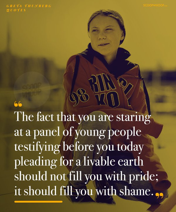 Quotes By Greta Thunberg The Young Activist Who S Forcing The
