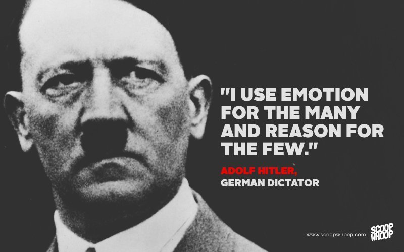 Image of: Motivational Quotes Keepinspiringme 15 Surprisingly Sensible Quotes From Famous Dictators And Evil Leaders