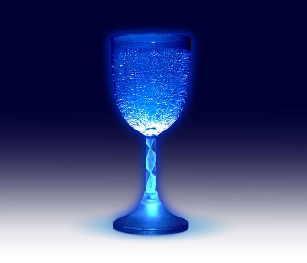Glowing Glasses Single Wine IWOOT