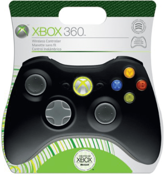 Xbox 360 Elite Wireless Controller Black Games