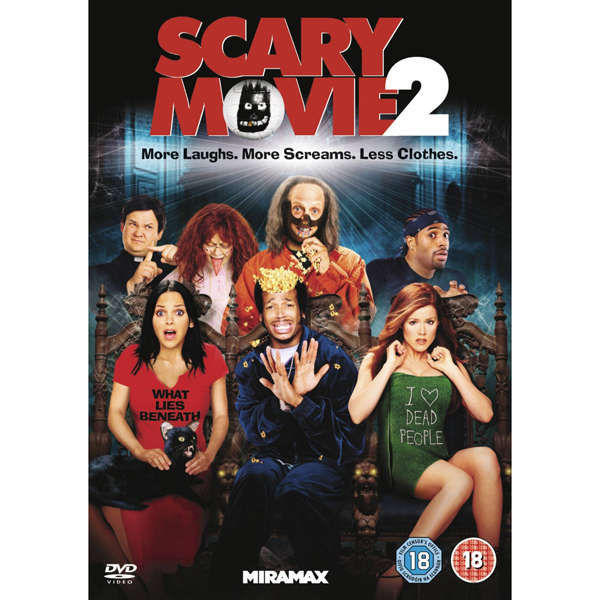 Image result for SCARY MOVIE 2 DVD