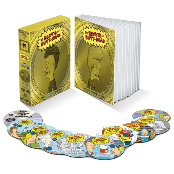 Beavis And Butthead Collectors Edition DVD