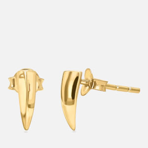 Missoma Women's Dagger Stud Earrings - Gold