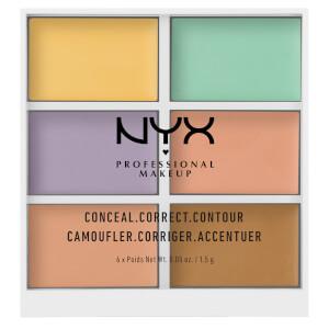 NYX Professional Makeup 3C Palette - Conceal, Correct, Contour