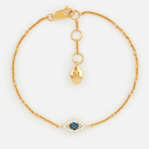 Missoma Women's Evil Eye Bracelet - Gold