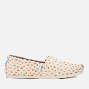 TOMS Women's Alpargata Canvas Slip-On Pumps