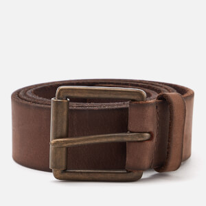 Superdry Men's Western Belt in a Box - Dark Brown