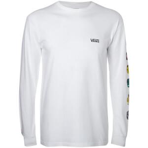 Vans Men's Marvel Characters Long Sleeve T-Shirt - White