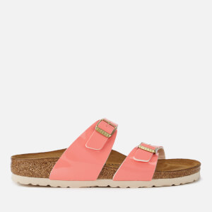 Birkenstock Women's Sydney Patent Slim Fit Double Strap Sandals