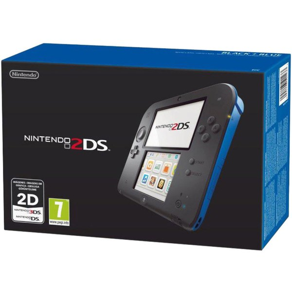 Nintendo 2DS Black Amp Blue Console Bundle Includes LEGO CITY Undercover The Chase Begins