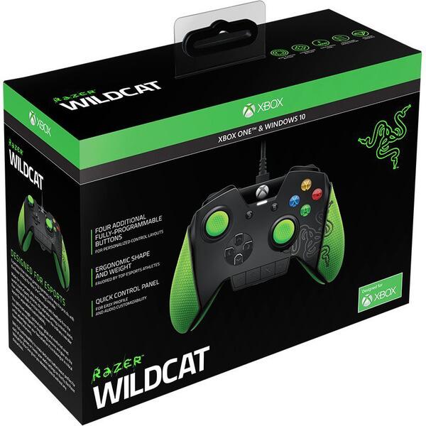 Razer Wildcat Xbox One Controller Games Accessories