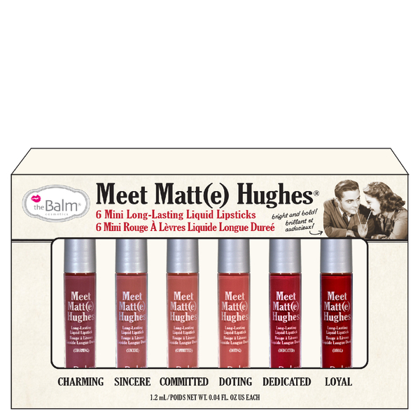 theBalm Meet Matt(e) Hughes Mini Liquid Lipsticks Kit