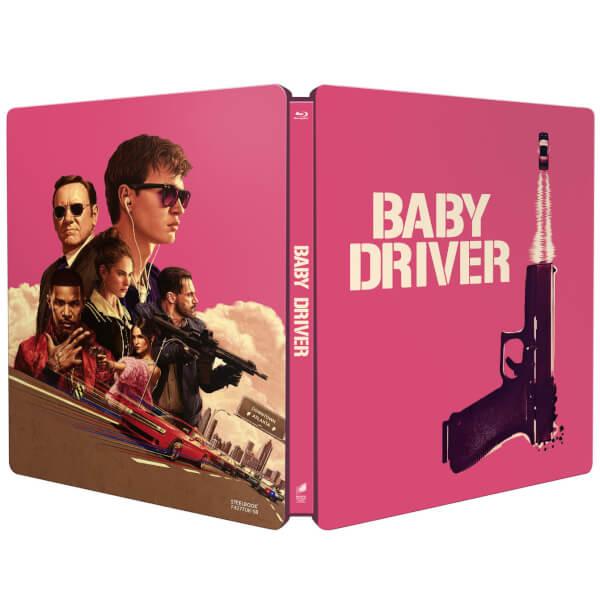 Baby Driver Limited Edition Steelbook Blu Ray Zavvi