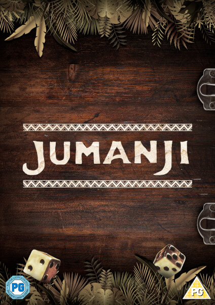 Jumanji 1995 Special Edition DVD With Board Game DVD