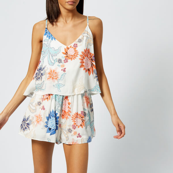 MINKPINK Women's Zion Layered Playsuit