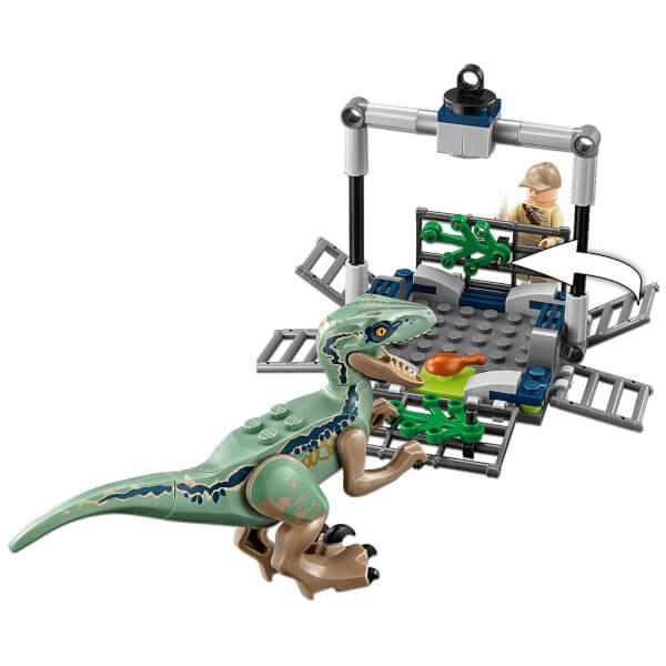 LEGO Jurassic Fallen Kingdom Blues Helicopter Pursuit