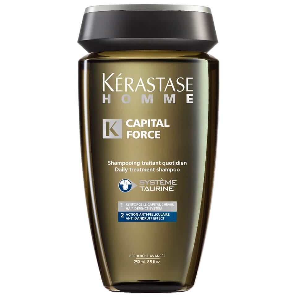 Krastase Homme Captial Force Anti Dandruff Shampoo 250ml