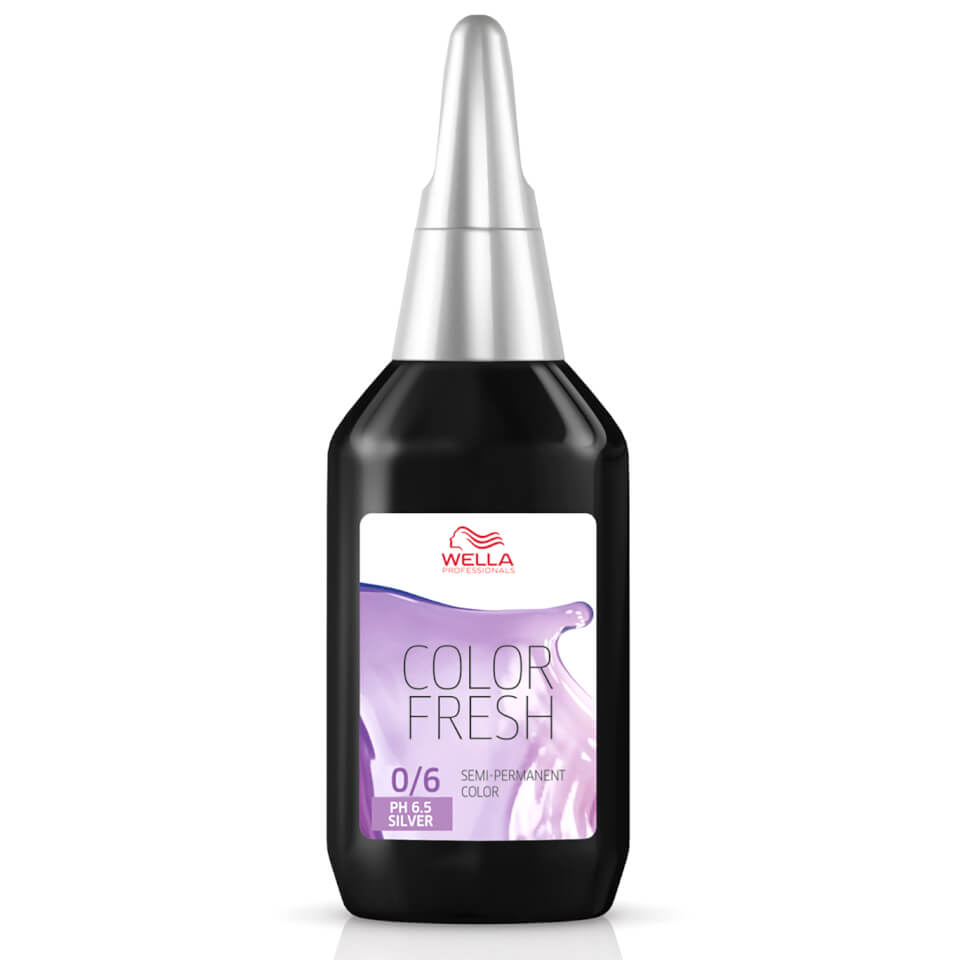 Wella Colour Fresh Silver Violet 06 75ml Free Shipping