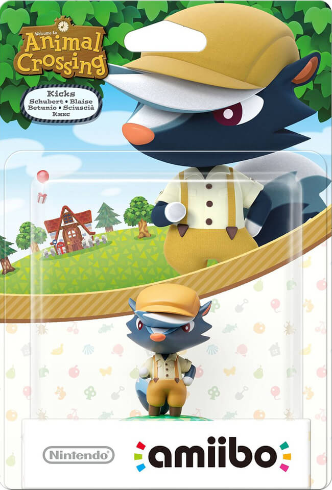 Amiibo Animal Crossing Kicks Games Zavvi