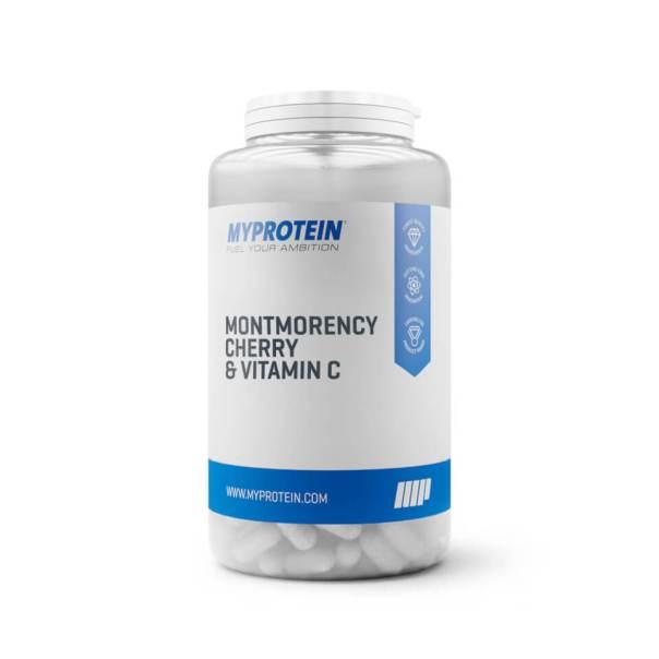 Comprimidos de Cereza Montmorency y Vitamina C - 30Tabletas